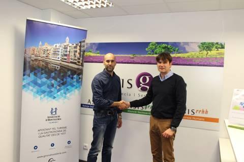 Conveni de col·laboració amb l'Associació d'Hostaleria Turisme i Restauració de Girona - 2f00b-IMG_9592.JPG