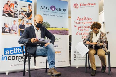 """Càritas i Asisgrup signen un acord per potenciar l'ocupabilitat de persones vulnerables amb Incorpora de Fundació """"la Caixa"""" - 69b90-P1530542.jpg"""