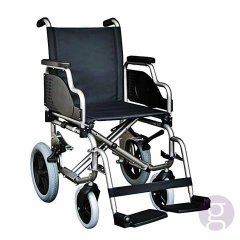 Cadira de rodes bàsica, amb acompanyant