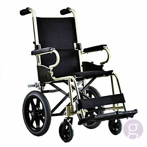 Cadira de rodes superlleugera, amb acompanyant