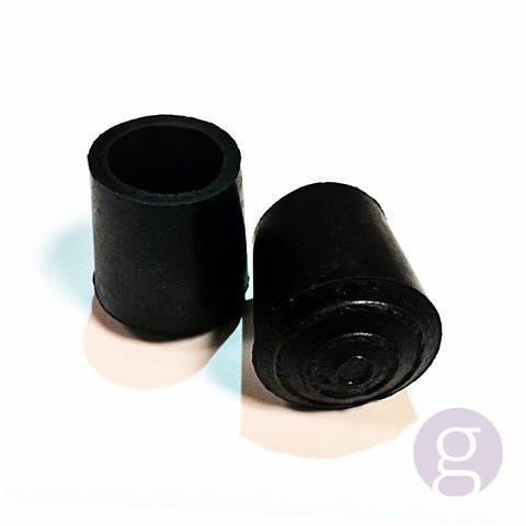 Tac de goma per a bastó, de 16mm diàmetre